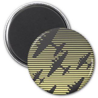 Night Raid 6 Cm Round Magnet