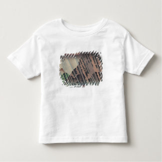Night Rain on Oyama, c.1830 Toddler T-Shirt