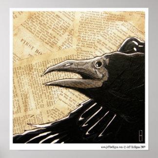 Night Raven Poster