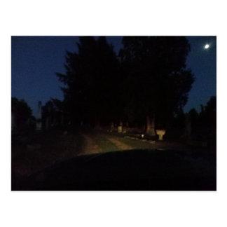 Night Ride Postcard