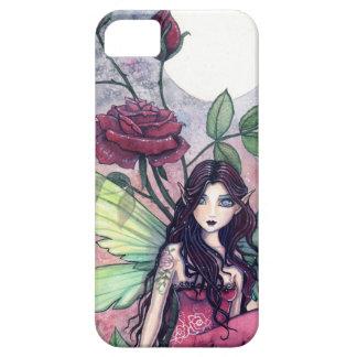 Night Rose Fantasy Fairy Art iPhone Case