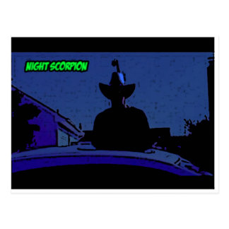 Night Scorpion Postcards
