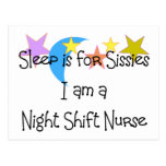 Night Shift Nurse Gifts Post Cards