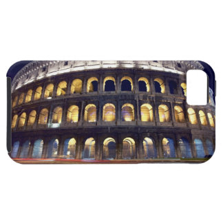 Night shot of Colosseum iPhone 5 Covers