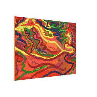 Night Signals 4 Canvas Print