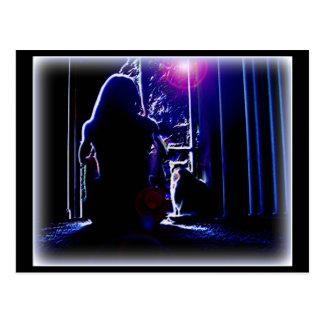 Night Silence Postcard