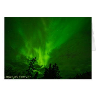 Night Skies - Northern Lights II Card
