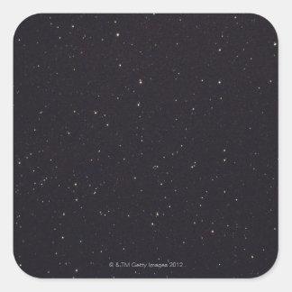 Night Sky 2 Square Sticker