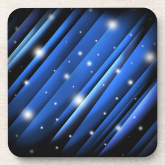 Night Sky Abstract Drink Coasters