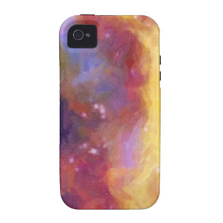 Night Sky Abstract TPD Case-Mate iPhone 4 Cases