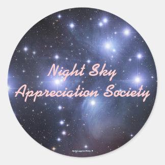 Night Sky Appreciation Society - S... - Customized Stickers