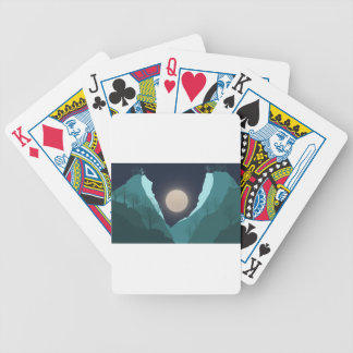 Night Sky Bicycle Playing Cards