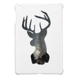 Night sky deer silhouette iPad mini cases