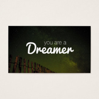 Night Sky | Dreamer Business Card