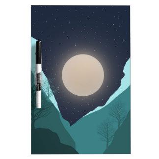 Night Sky Dry Erase Board