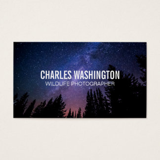 Night Sky | Forest Business Card