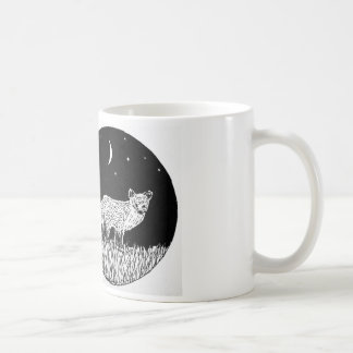 Night Sky Fox Mug