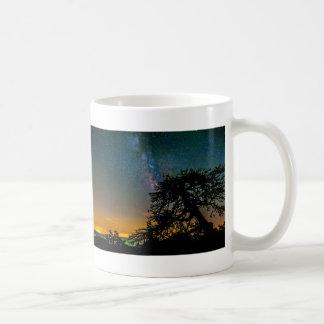 Night Sky From Mountain Coffee Mug