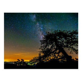 Night Sky From Mountain Postcards