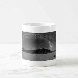 Night Sky Milky Way Panorama of Racetrack Playa Coffee Mug