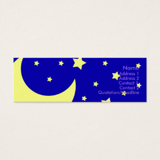 Night Sky Mini Business Card