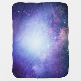 Night Sky Outer Space Baby Blankets