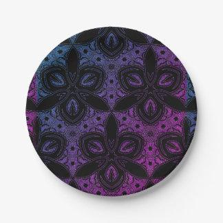 Night Sky Paper Plate