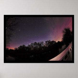 Night Sky Photo Poster