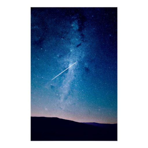 NIGHT SKY PHOTOGRAPHY POSTER