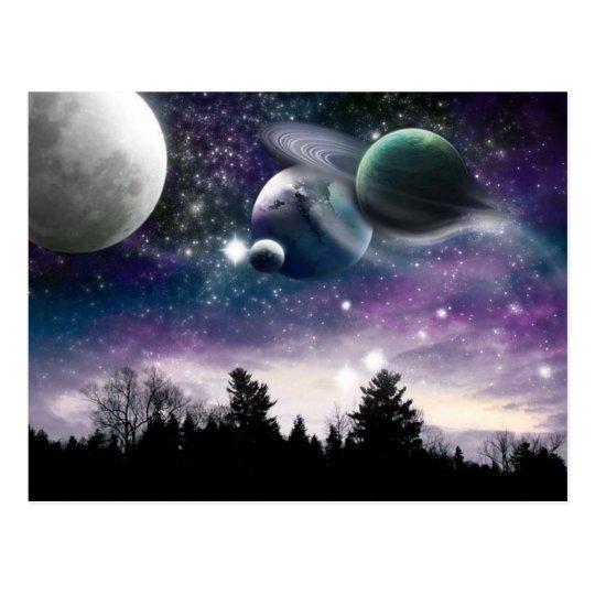 Night Sky postcard
