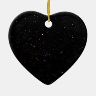 Night Sky Space Christmas Ornament