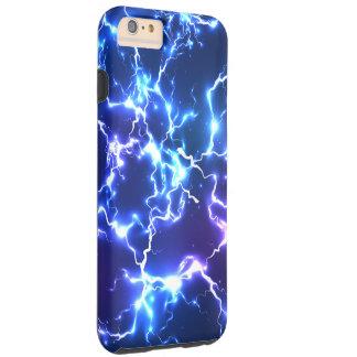Night Sky Tunderstorm Lightning Tough iPhone 6 Plus Case