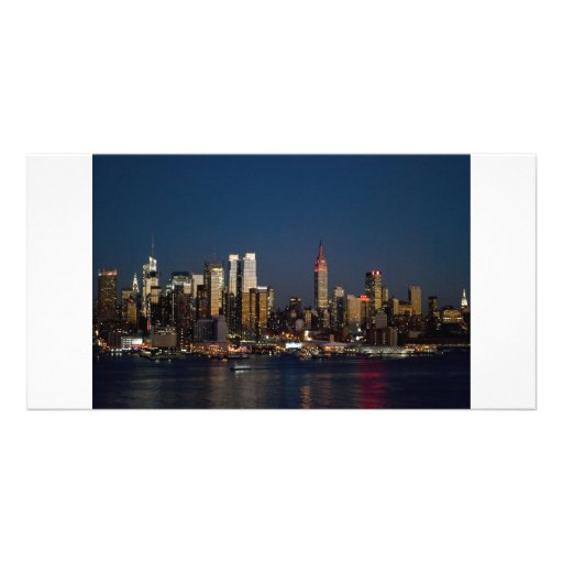 Night Skyline 2010 Picture Card