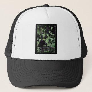 night snowdrops trucker hat