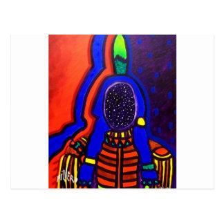 Night Spirit by Piliero Post Card