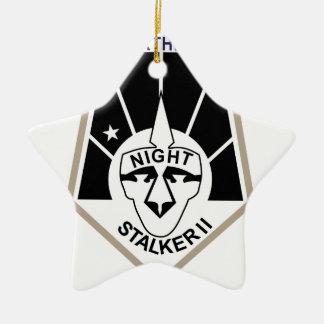 Night Stalker II Ceramic Star Decoration