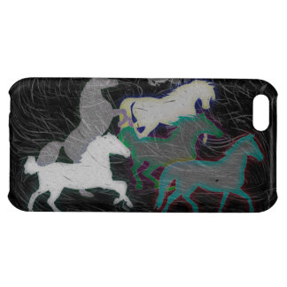 NIGHT STORM HORSE HERD COVER FOR iPhone 5C