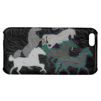 NIGHT STORM HORSE HERD iPhone 5C CASE