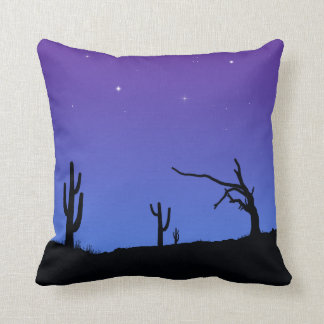 Night & Sunset reversible cushion