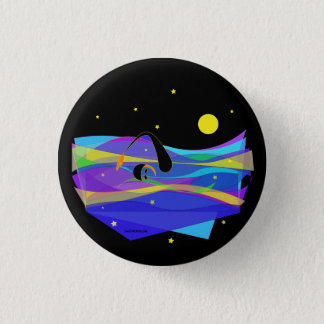 Night Swimmer Small Button