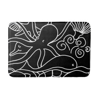 Night Swimming Bath Mat