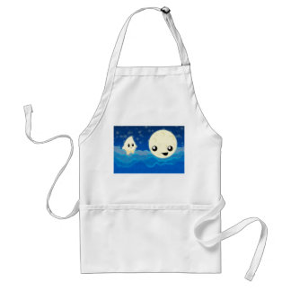 Night Tales Moon and Star Adult Apron