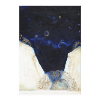 Night the angel got his wings 2 2013 canvas print