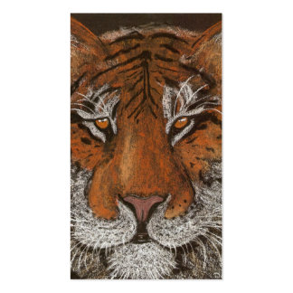 Night Tiger Pack Of Standard Business Cards