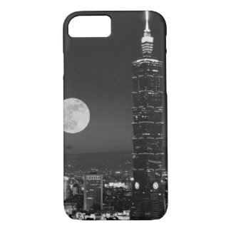 Night time City Centre Photograph iPhone 7 Case