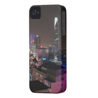 Night time cityscape of Ho Chi Minh City. iPhone 4 Cases