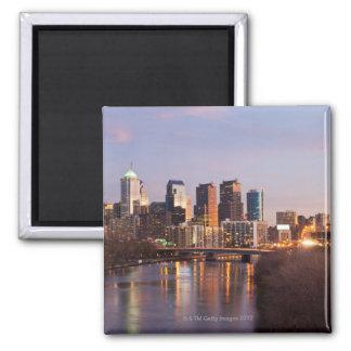 Night time panoramic view at Philadelphia Magnet