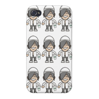 Night Time Player iPhone 4 Covers