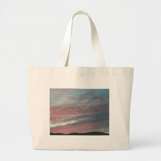 night time sky canvas bags