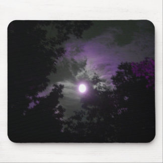 night time sky mouse mat
